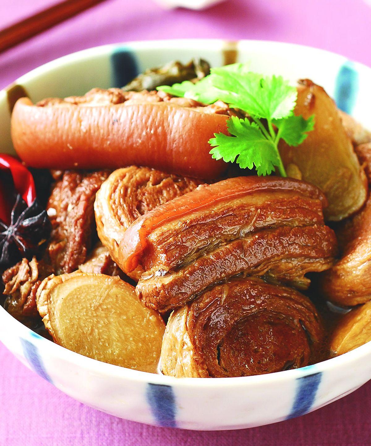食譜:豆輪滷肉