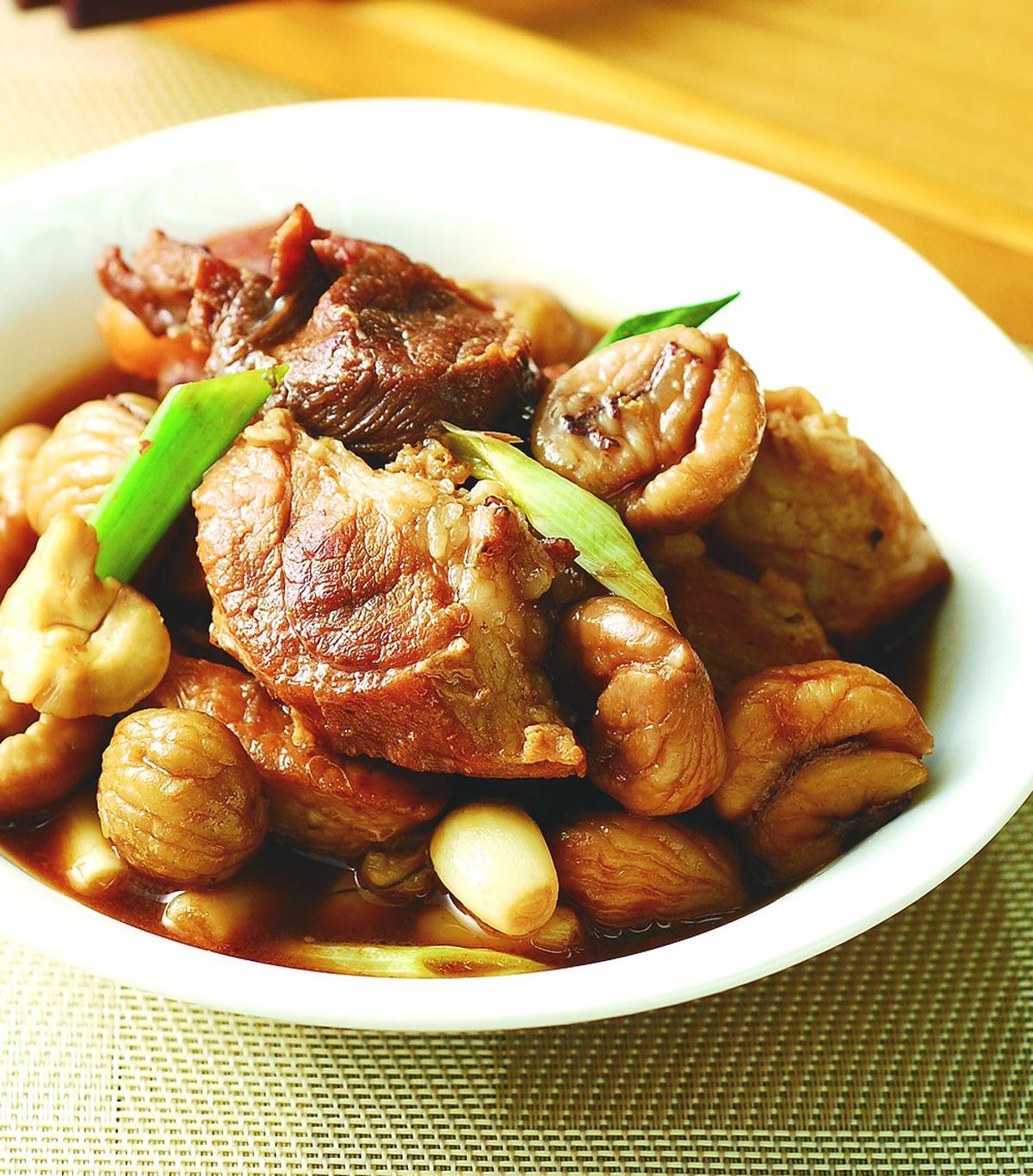 食譜:栗子滷肉