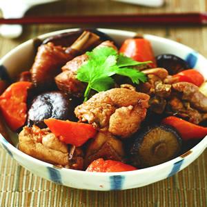 香菇滷肉塊