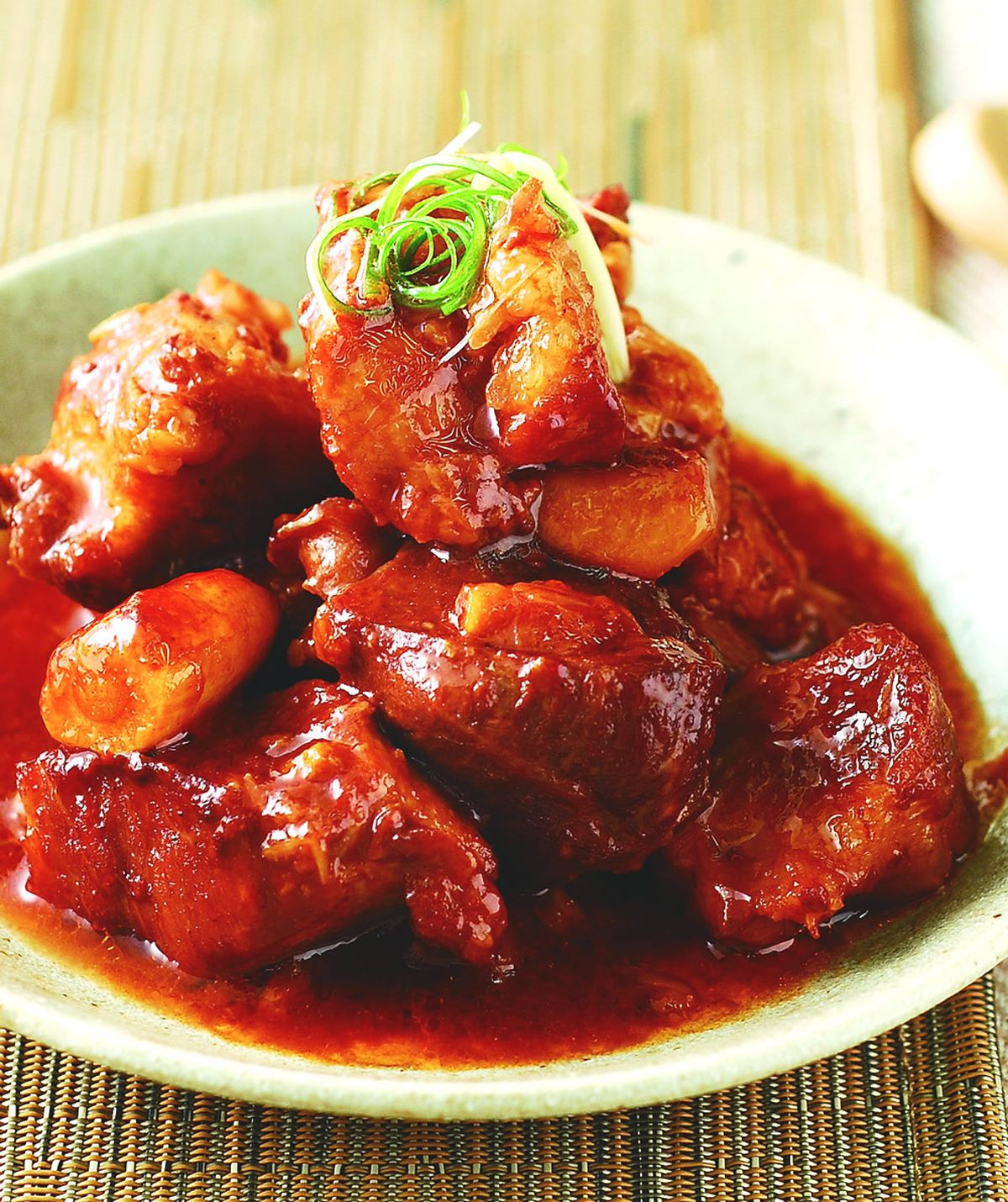 食譜:紅麴滷肉