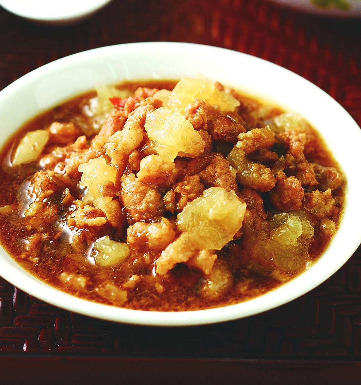 食譜:鹹冬瓜滷肉燥