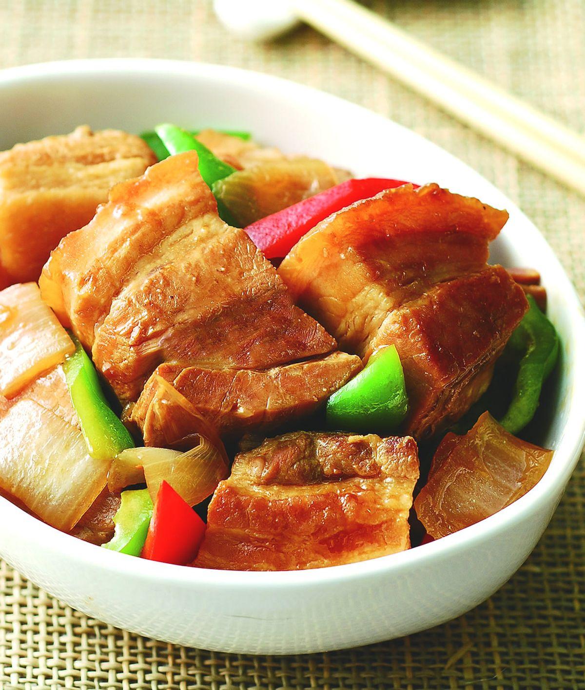 食譜:醬燒肉塊
