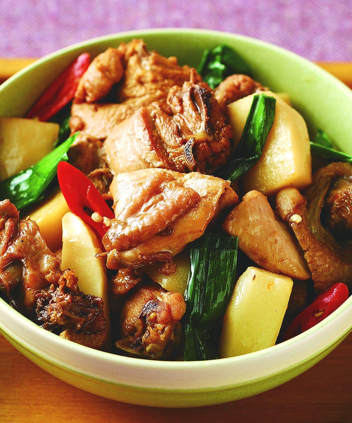 食譜:綠竹筍滷肉