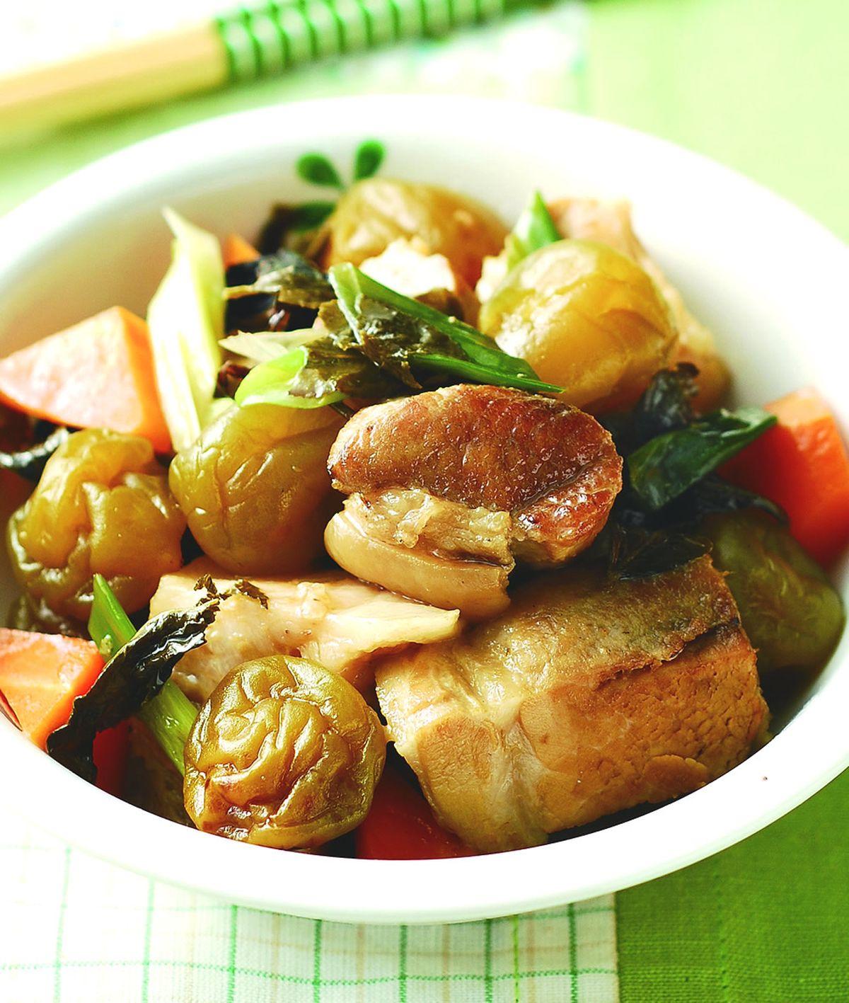 食譜:茶梅滷肉塊