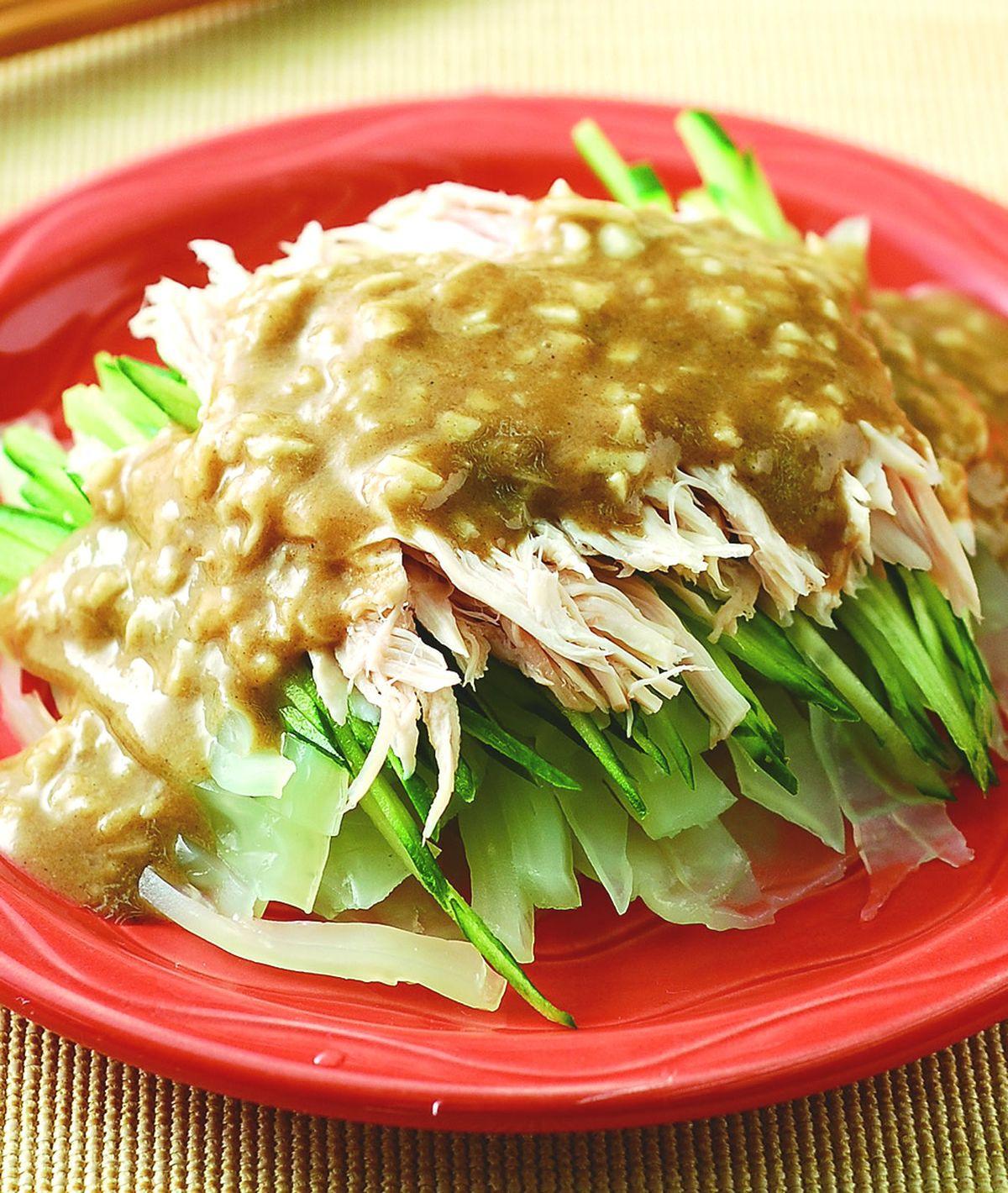 食譜:雞絲拉皮(6)