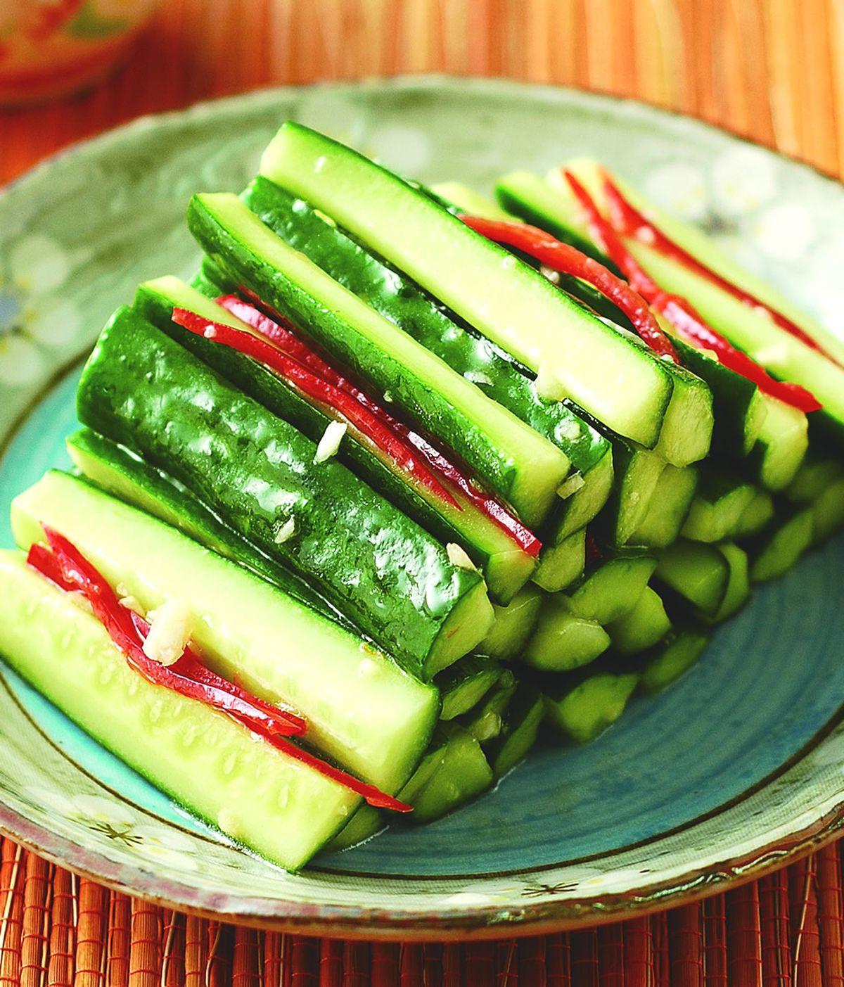 食譜:麻油黃瓜