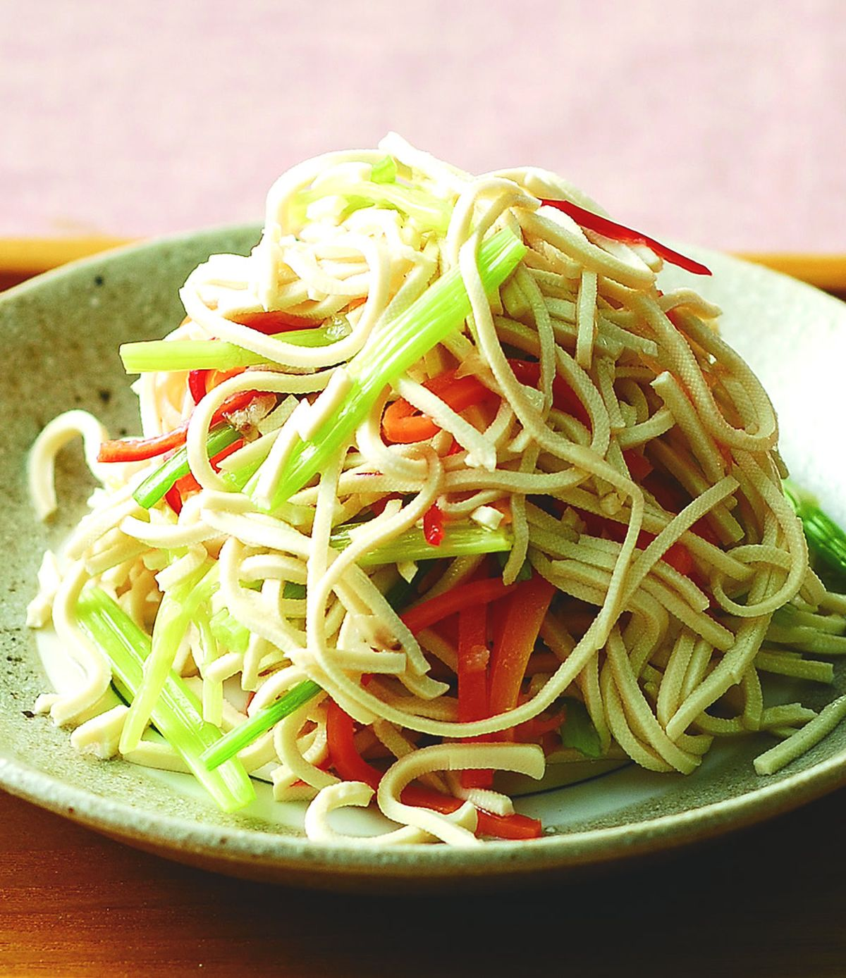 食譜:芹菜干絲(1)