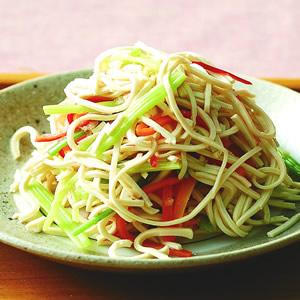 芹菜干絲(1)
