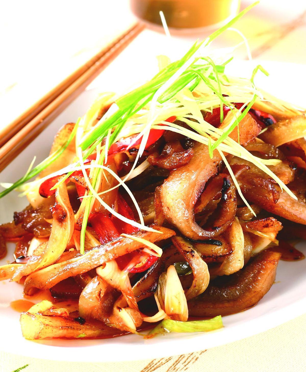 食譜:紅油豬耳