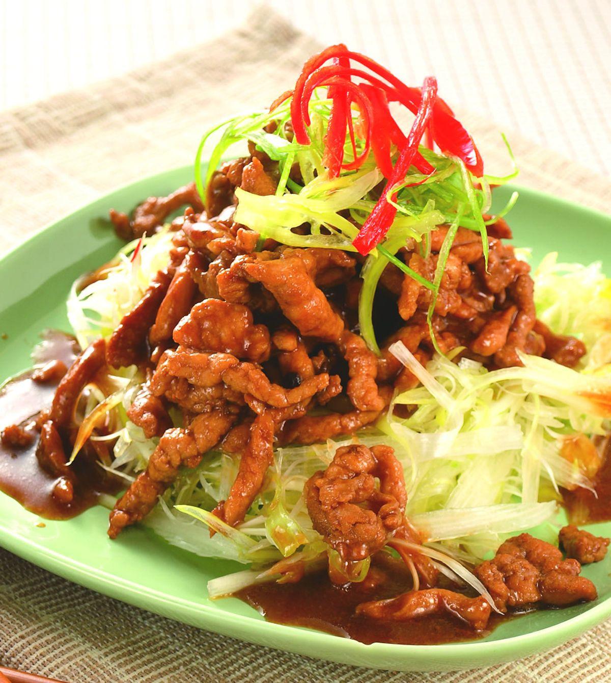 食譜:京醬肉絲(6)