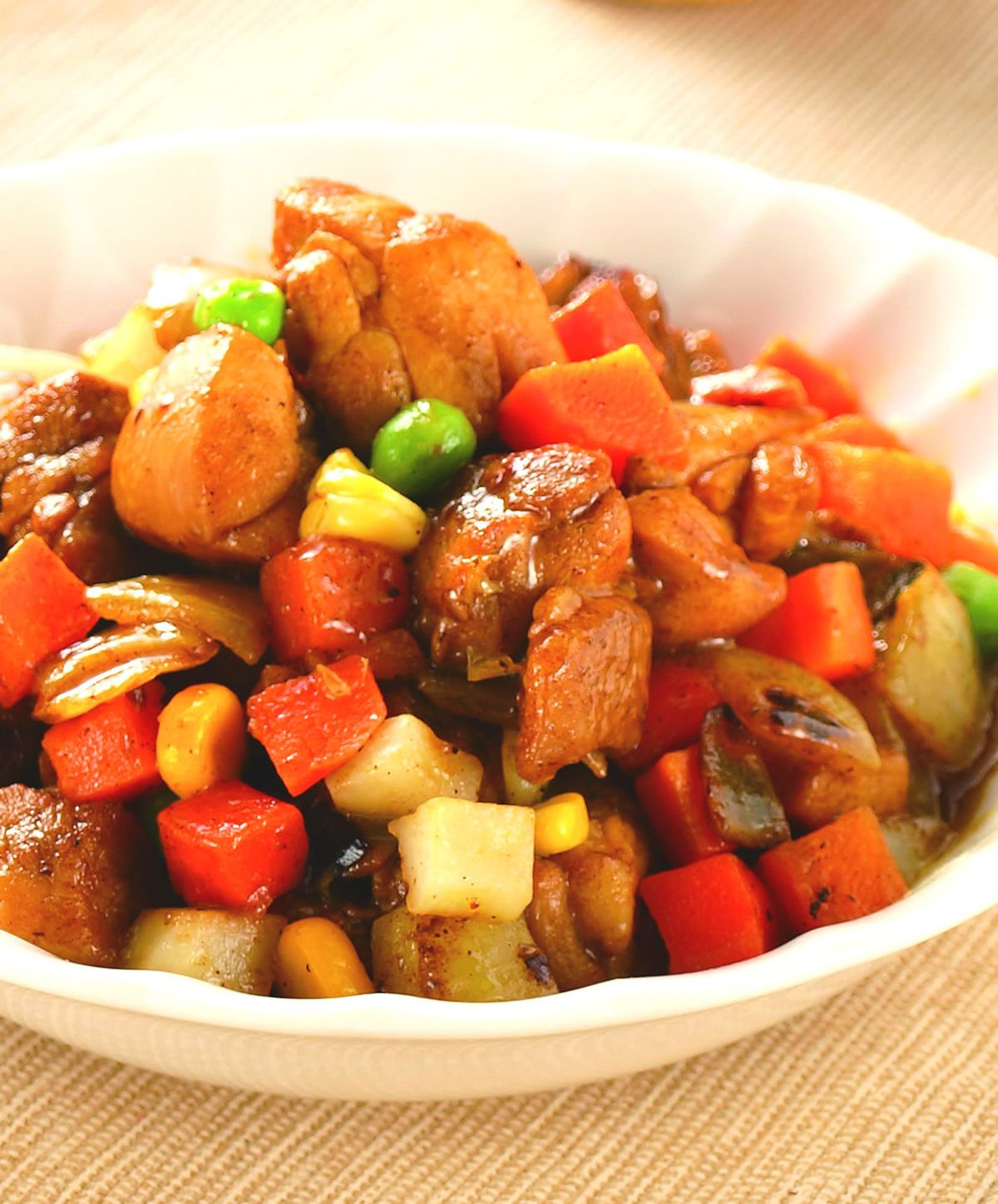 食譜:咖哩雞丁(1)