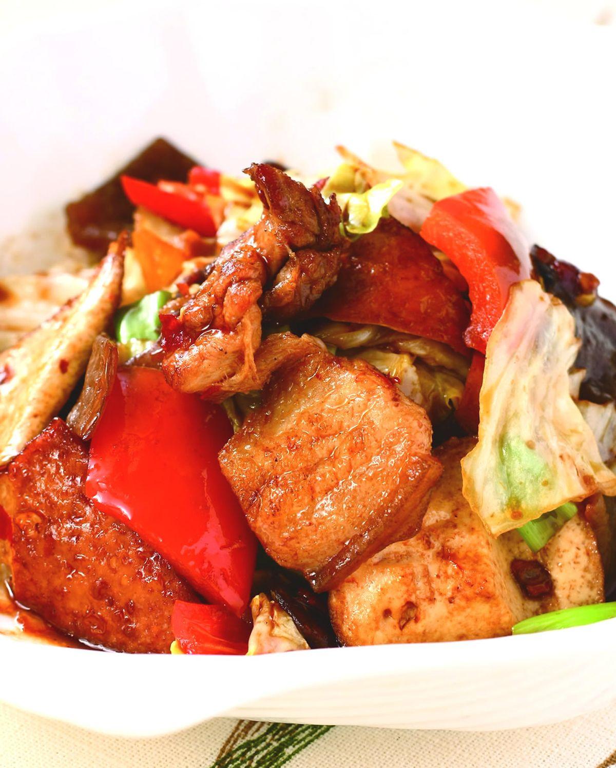 食譜:回鍋肉(8)