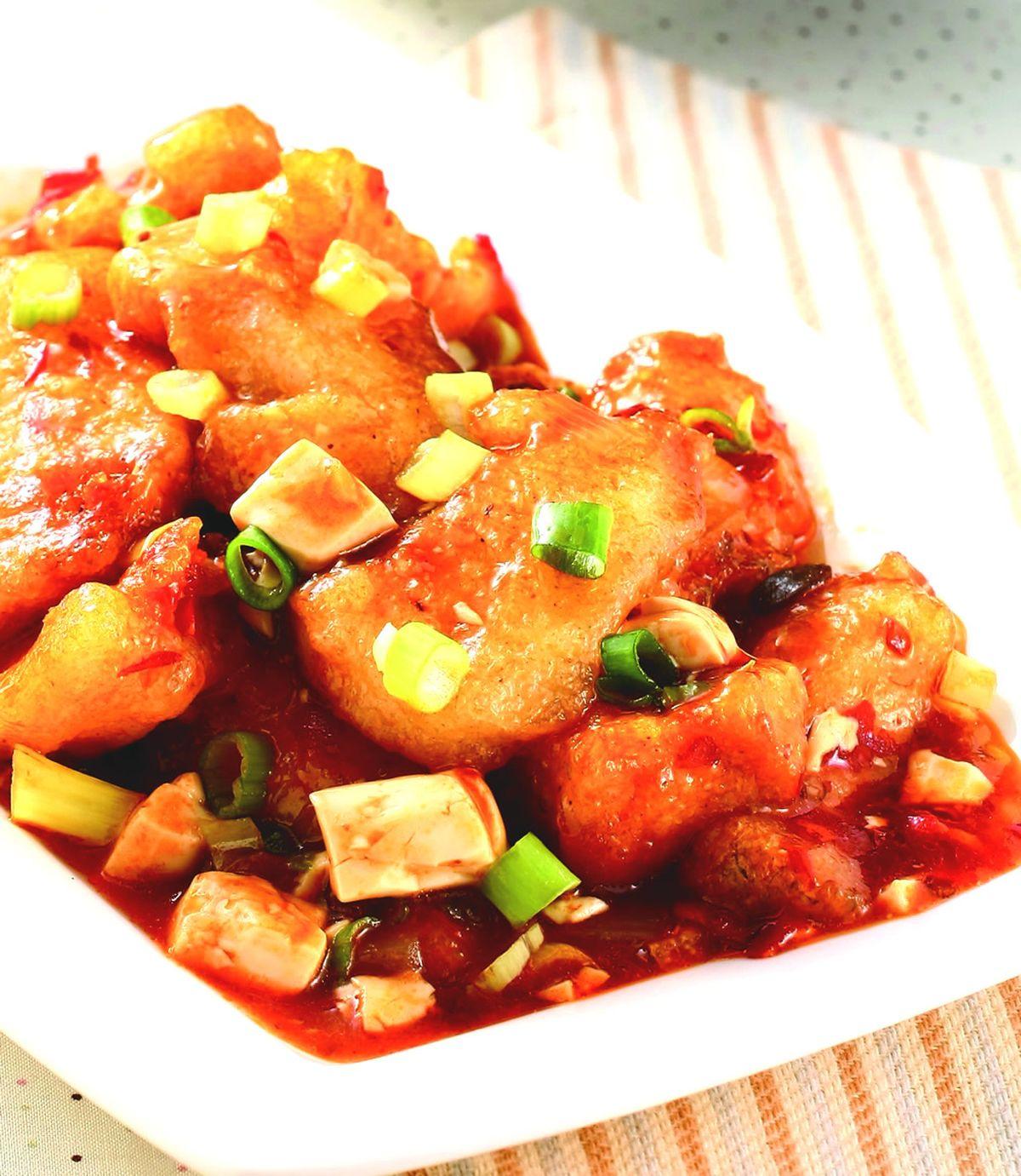 食譜:辣豆瓣魚片