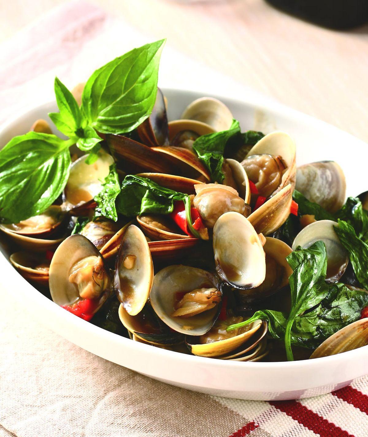 食譜:塔香蛤蜊