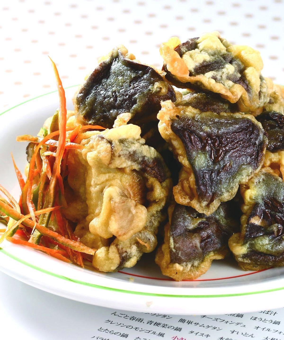 食譜:椒鹽香菇