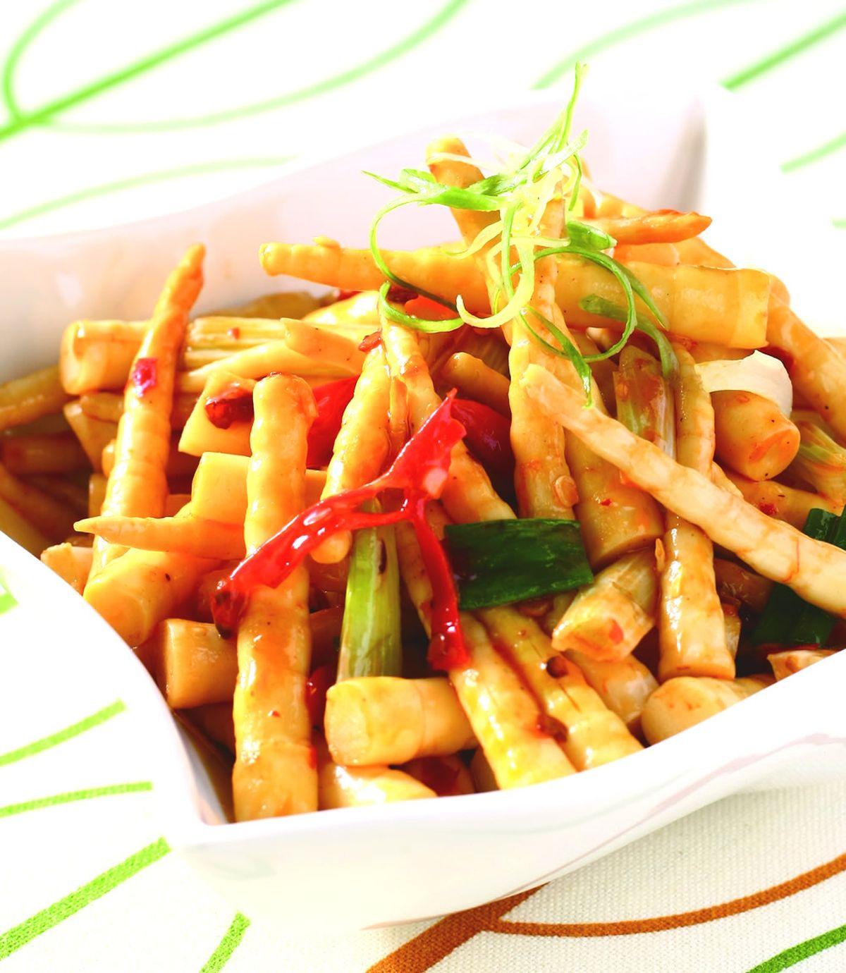 食譜:辣炒箭筍(1)