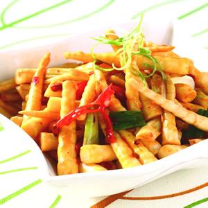 辣炒箭筍(1)