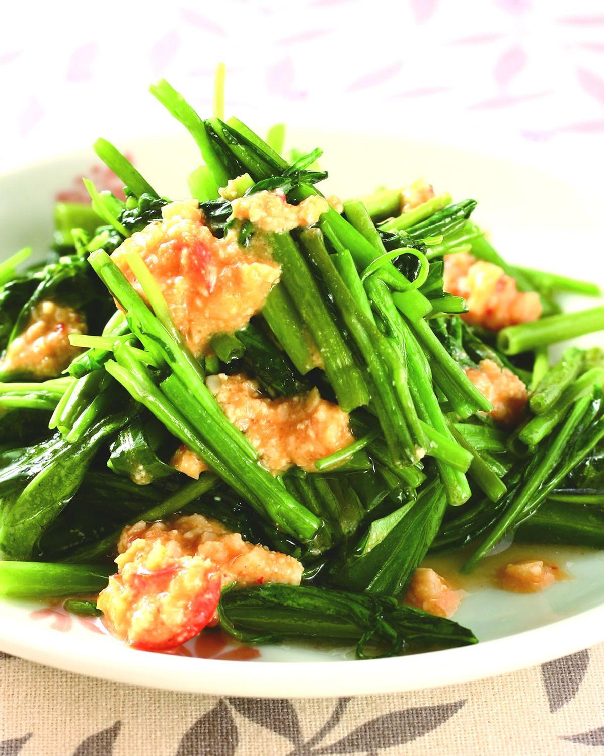 食譜:腐乳空心菜(3)