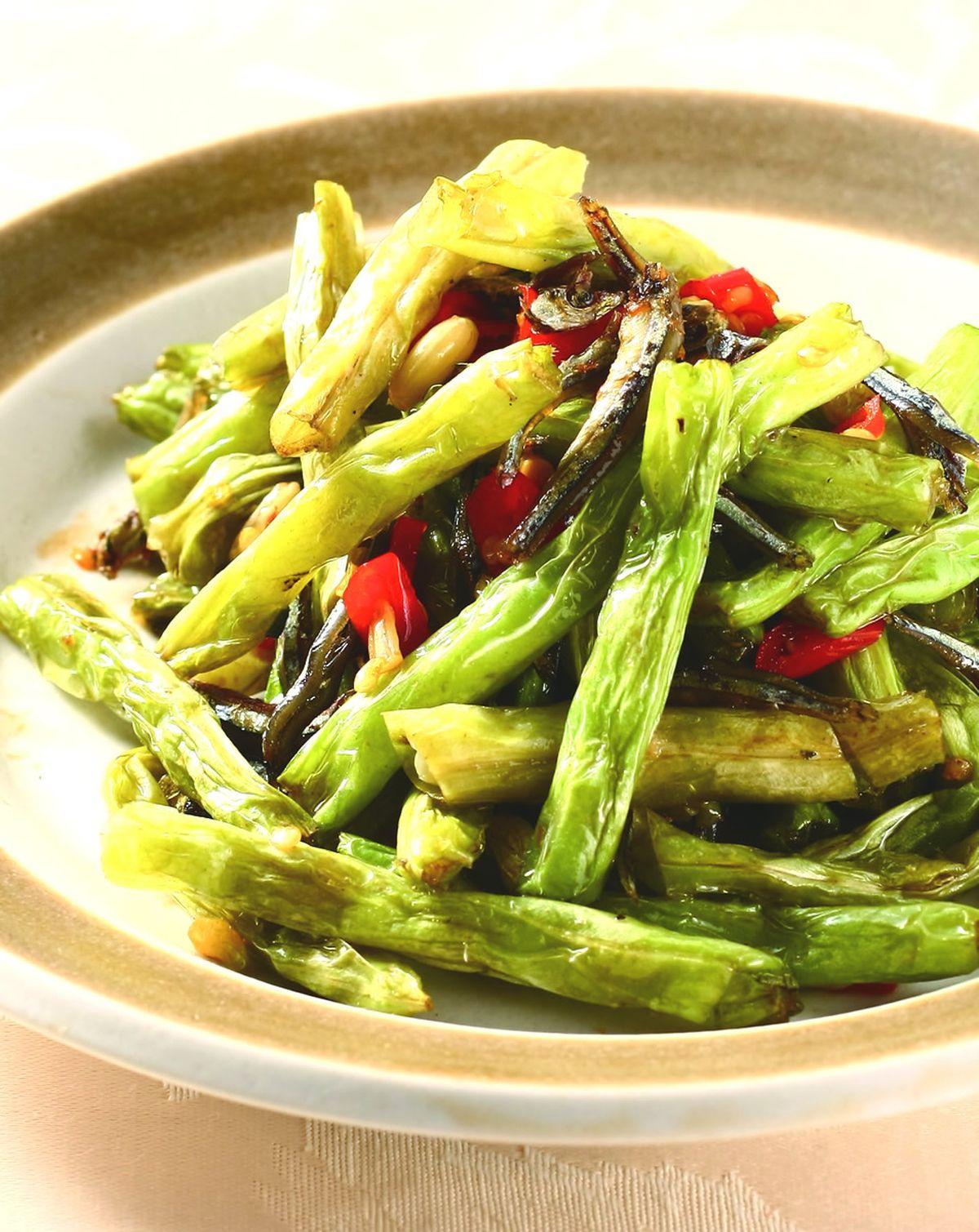 食譜:丁香乾煸四季豆