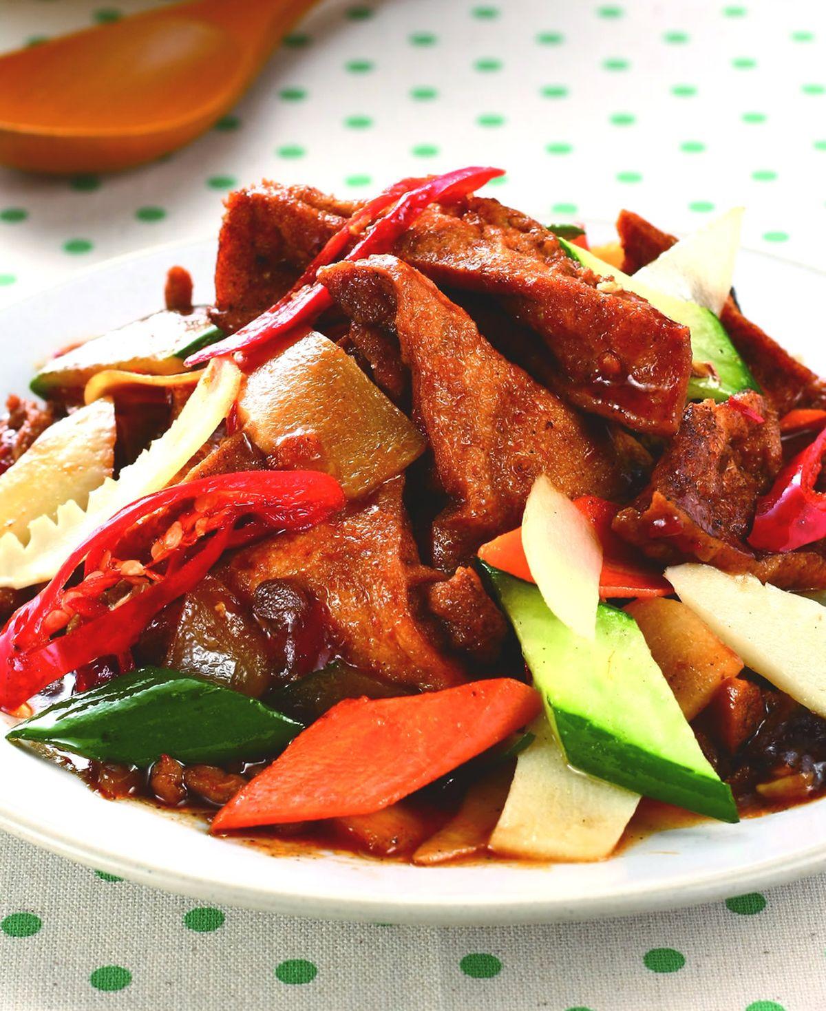 食譜:家常豆腐(4)