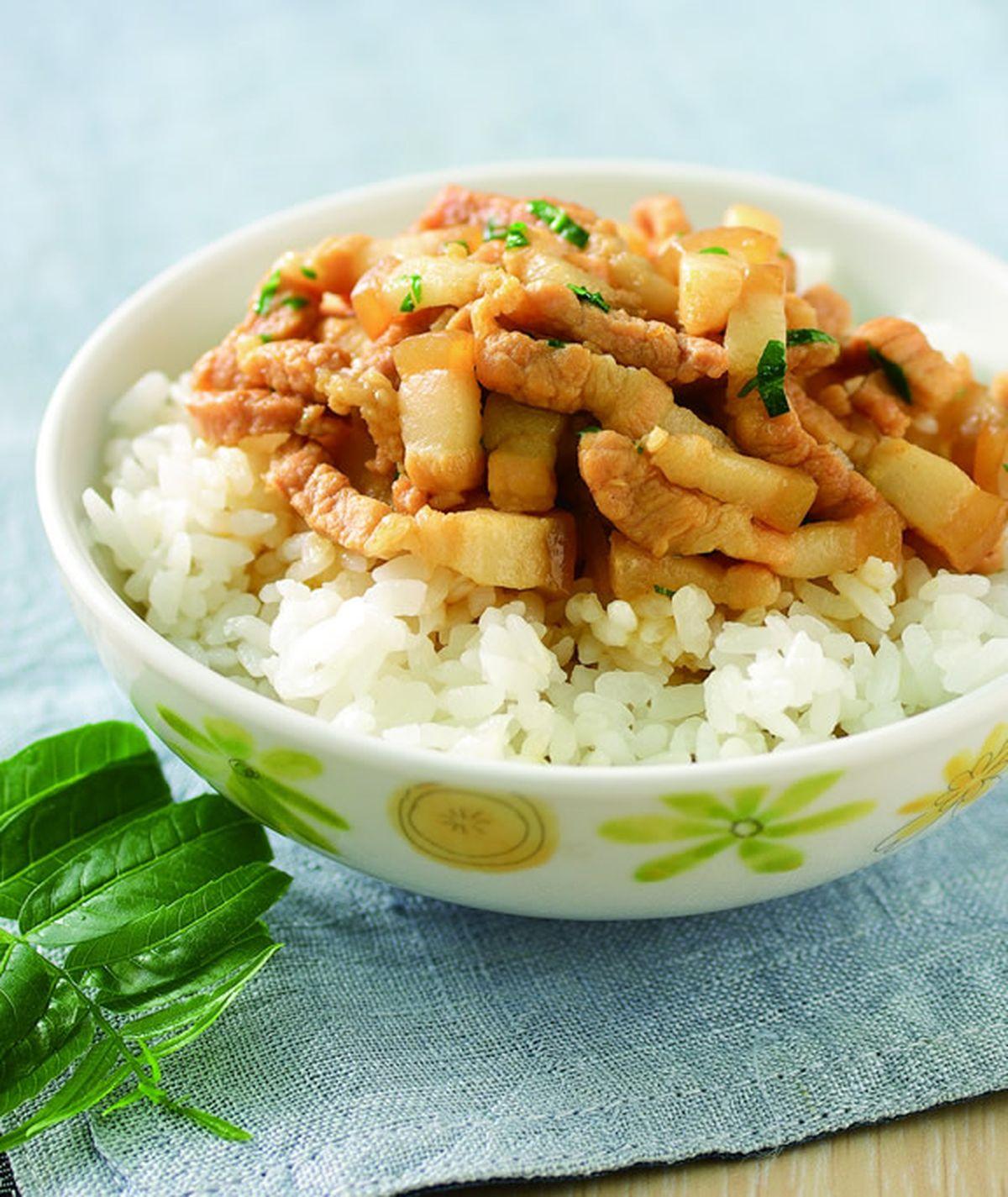 食譜:香椿滷肉飯
