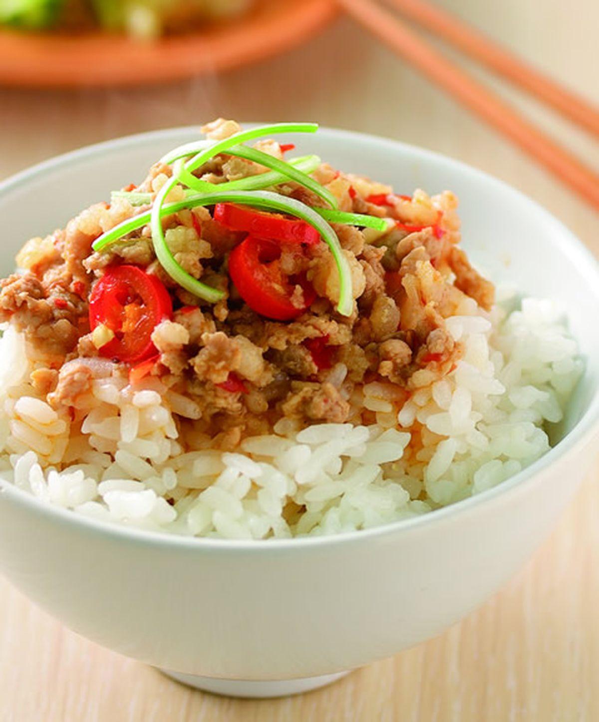 食譜:辣味滷肉飯