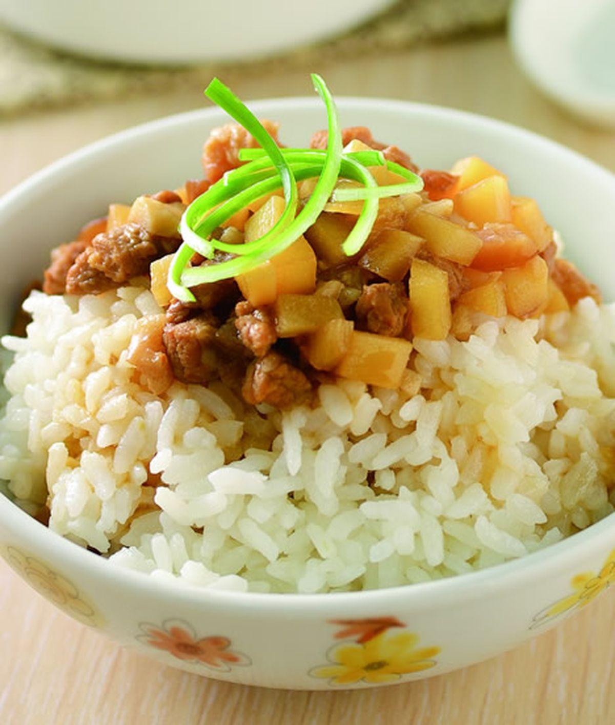 食譜:筍丁滷肉飯