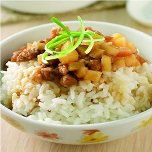 筍丁滷肉飯