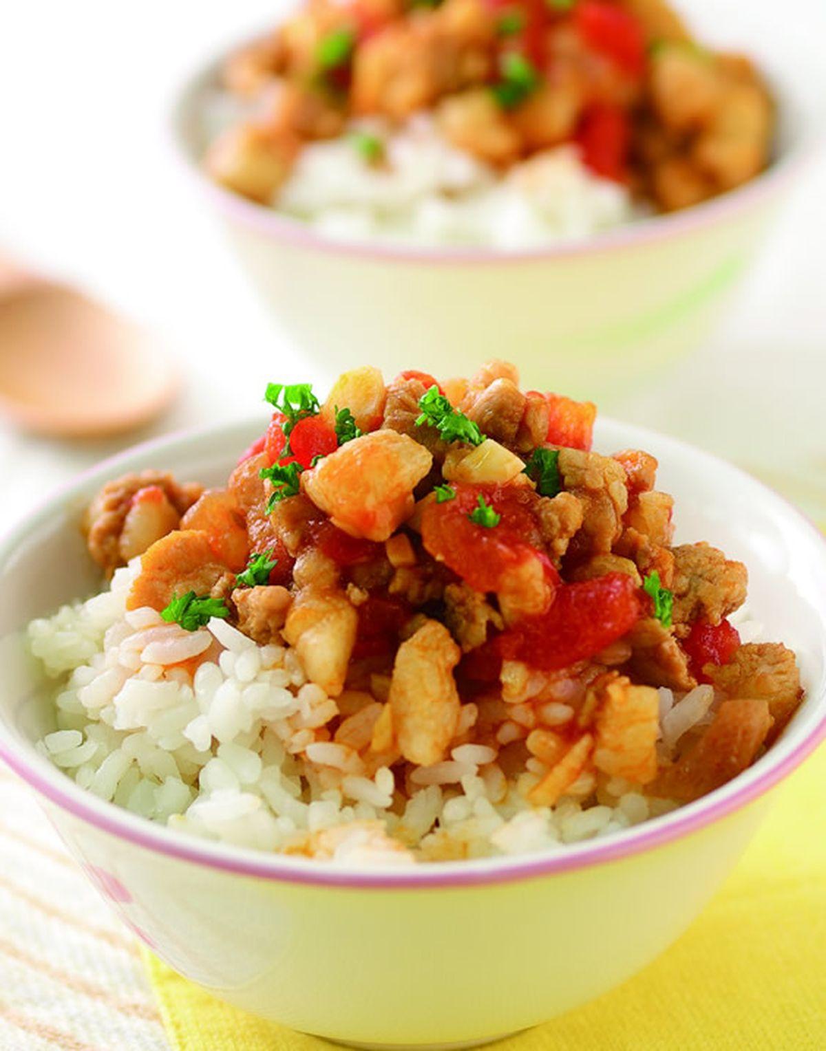 食譜:茄汁滷肉飯