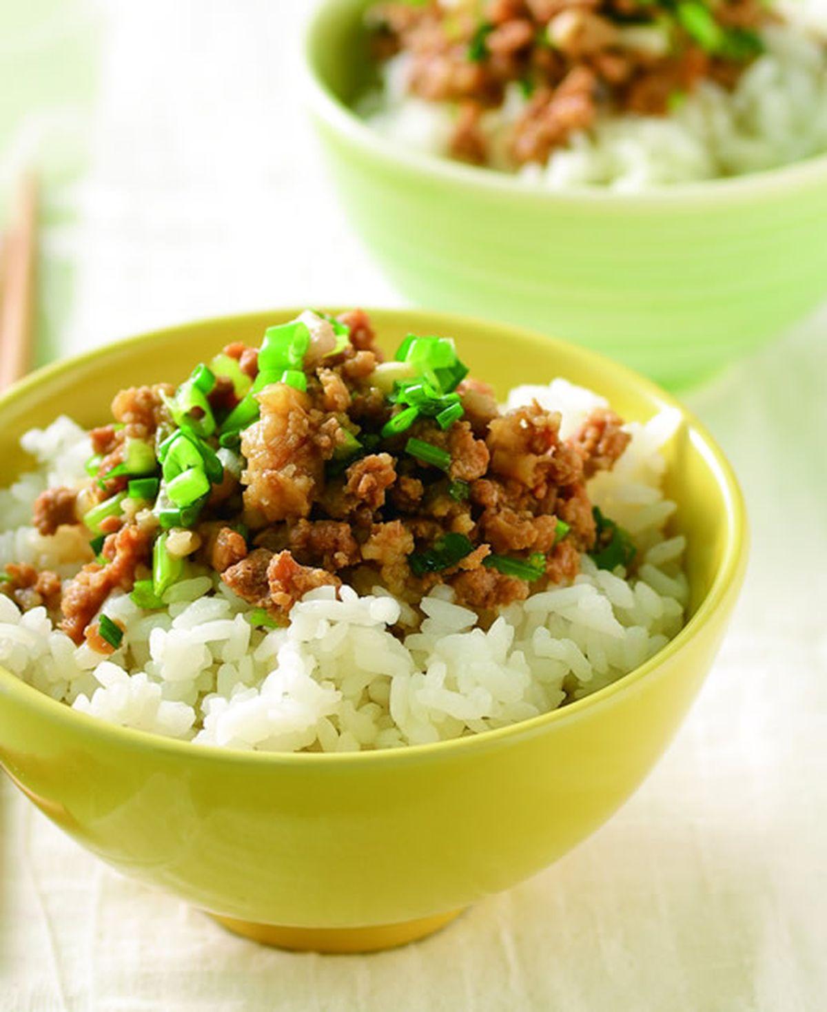 食譜:香蔥肉燥飯