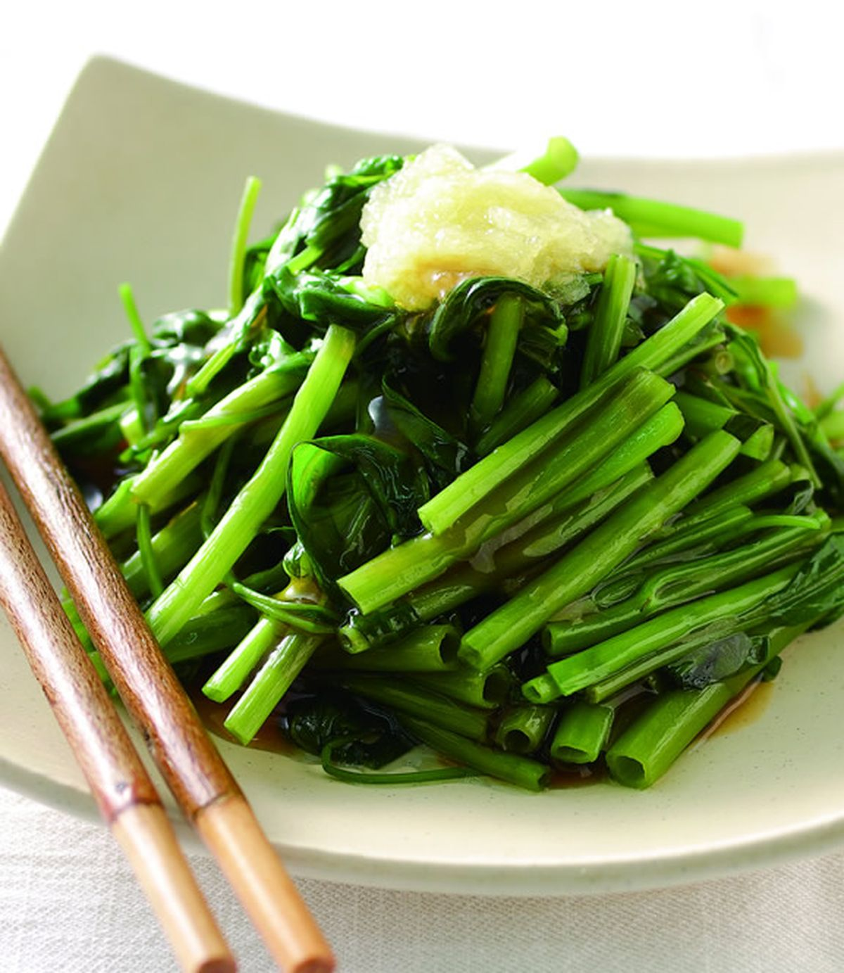食譜:蒜泥空心菜