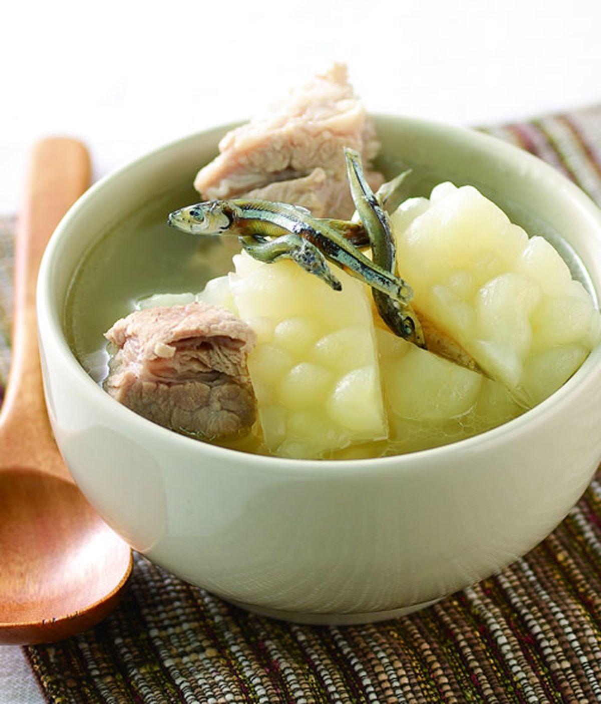 食譜:排骨丁香苦瓜湯