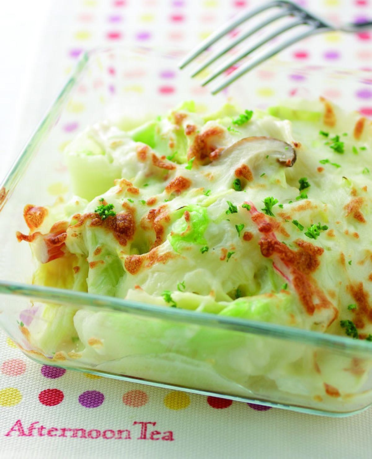 食譜:奶油焗烤白菜