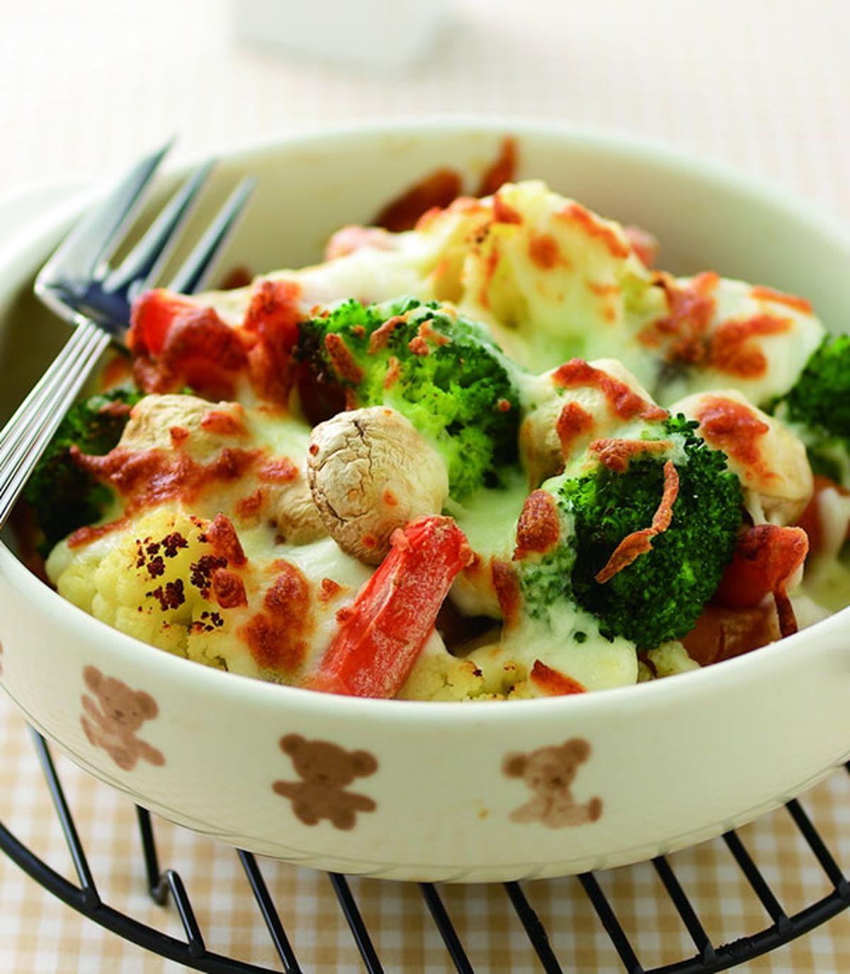 食譜:焗烤綜合鮮蔬