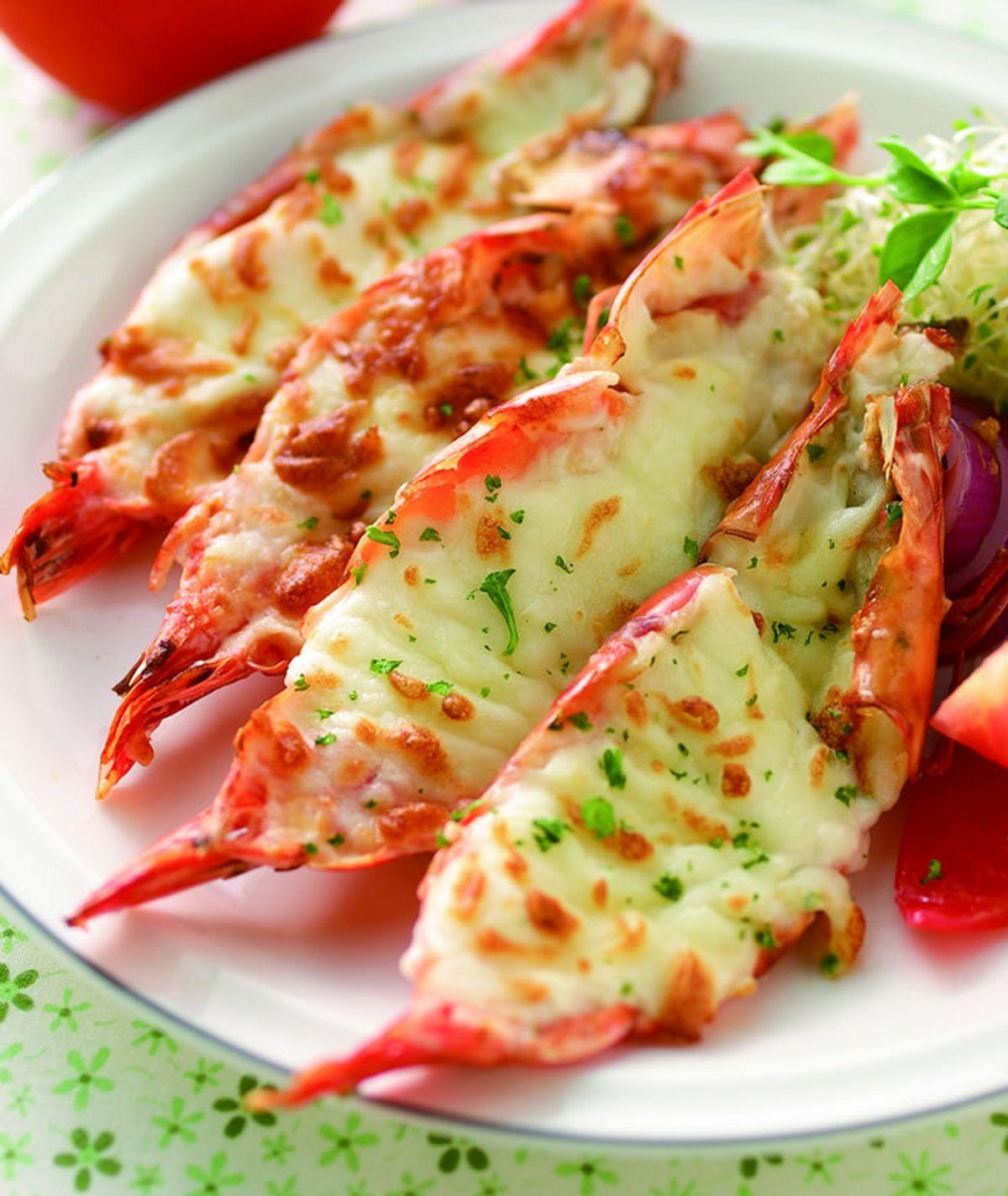食譜:焗烤大蝦