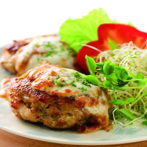 蒜香黑胡椒焗烤漢堡肉