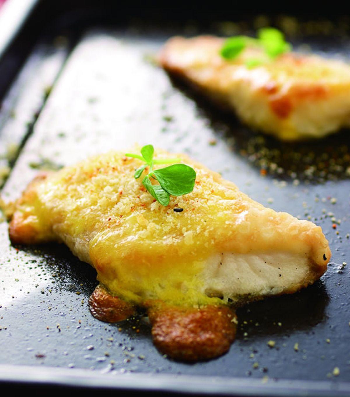食譜:焗烤鯛魚