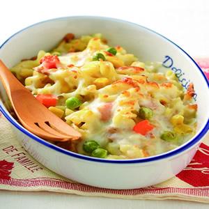 黃金玉米鮪魚焗麵