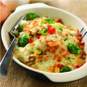 奶油野菇焗飯