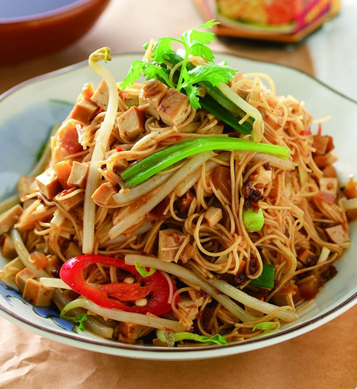 食譜:酸菜豆香乾拌麵