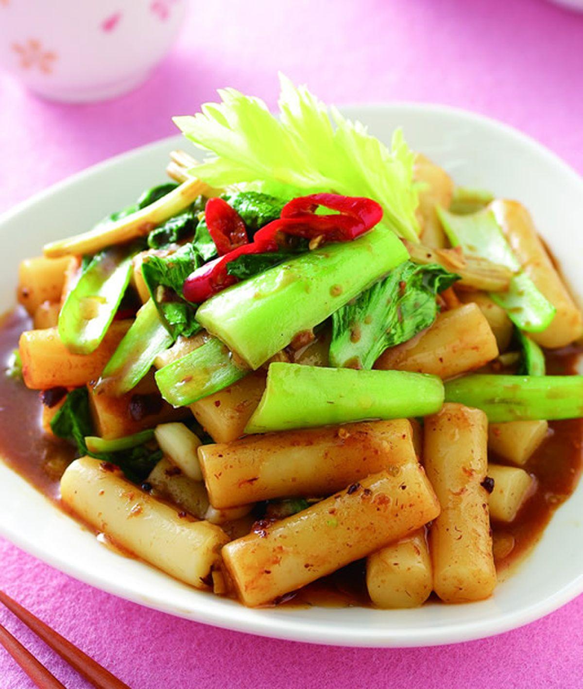 食譜:熱炒韓式年糕