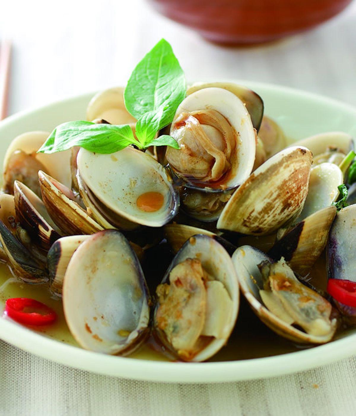 食譜:辣炒塔香蛤蜊