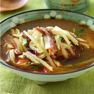 素燴三絲豆腐湯