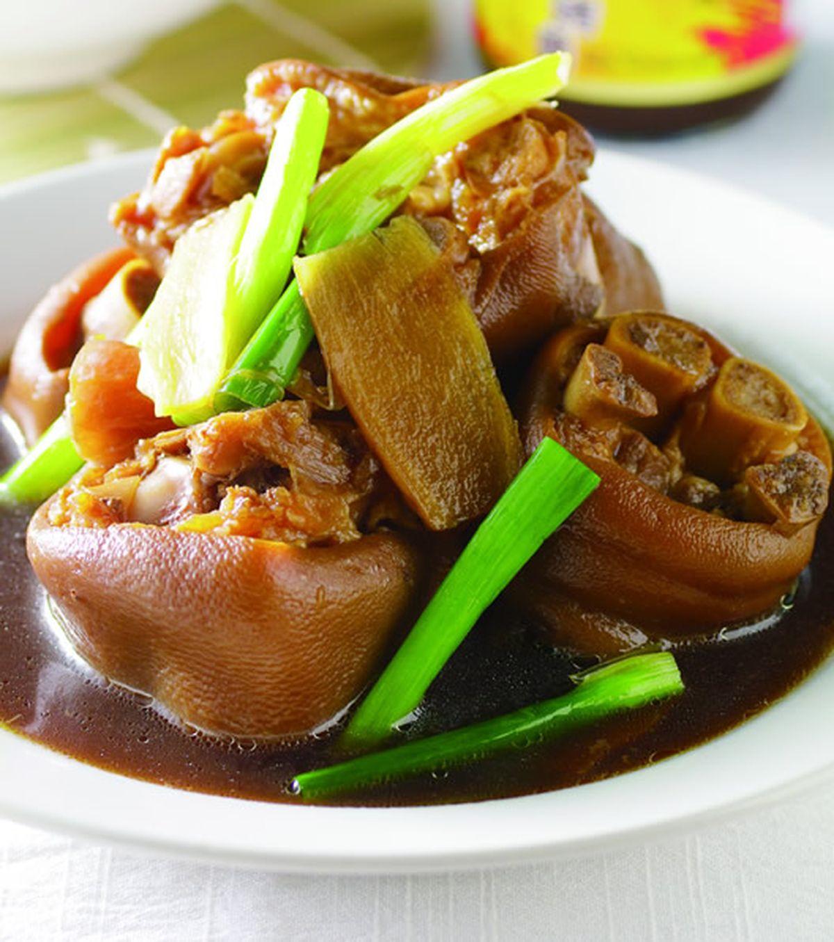 食譜:燒滷豬腳肉