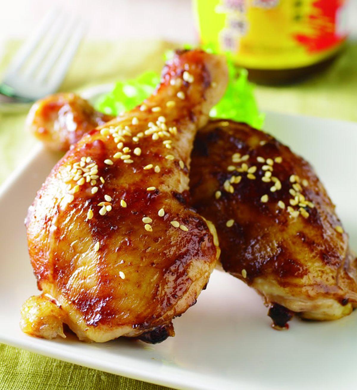 食譜:百里香烤雞腿