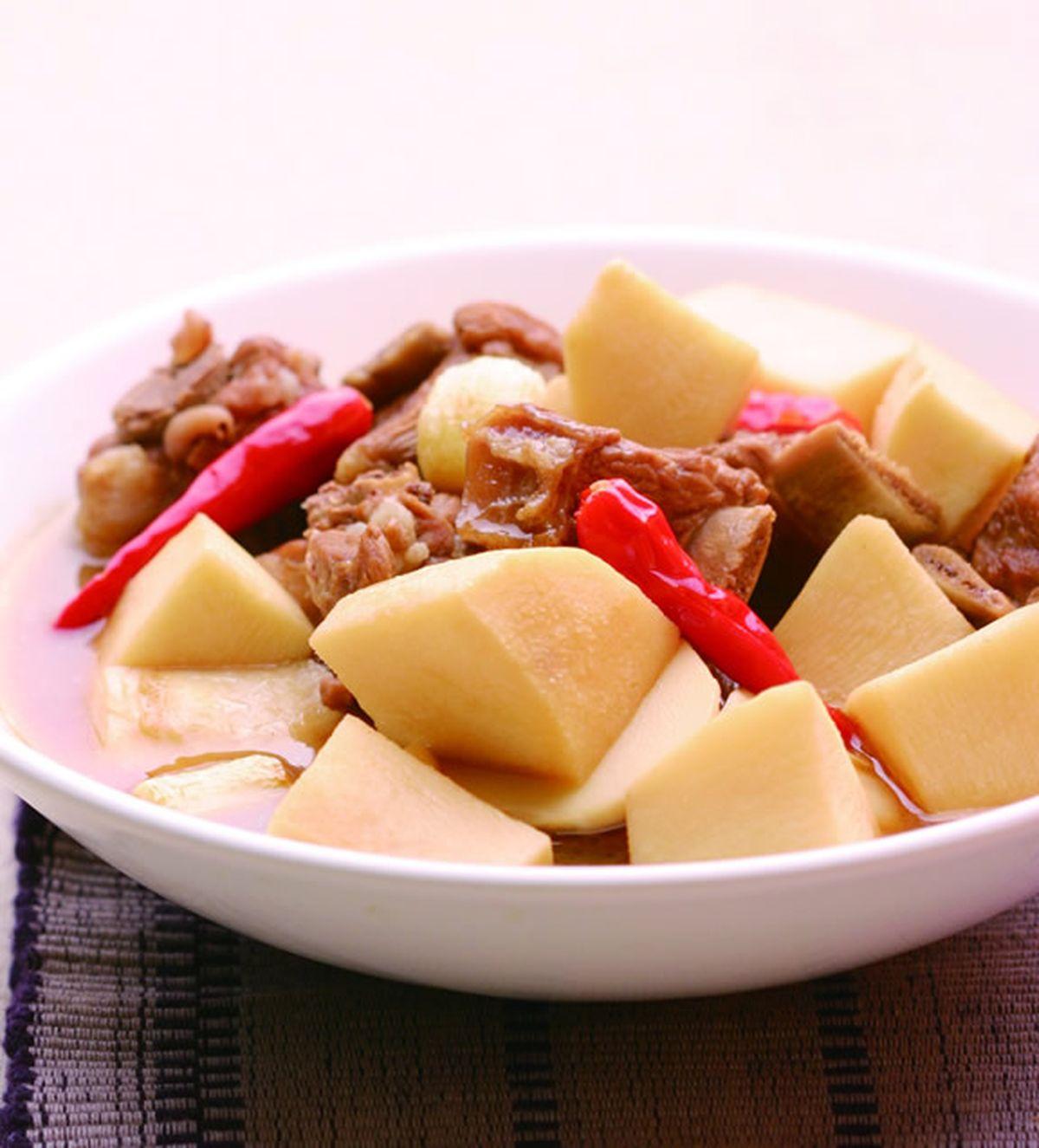 食譜:竹筍燒排骨