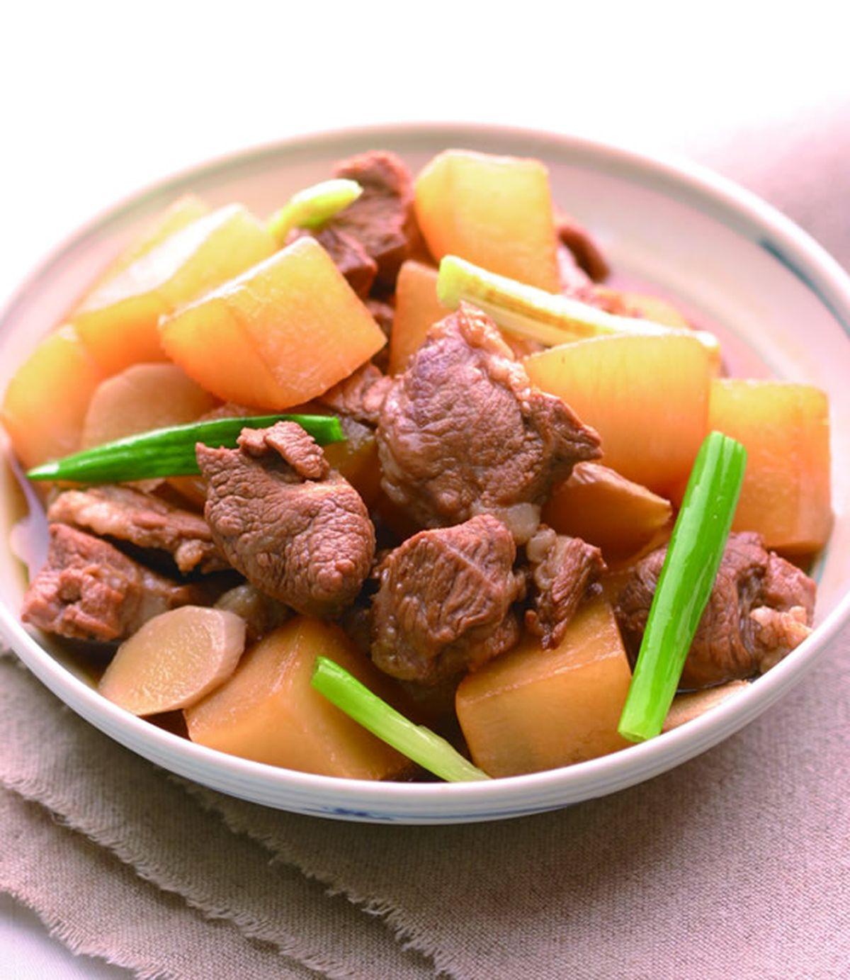 食譜:蘿蔔燒肉(2)