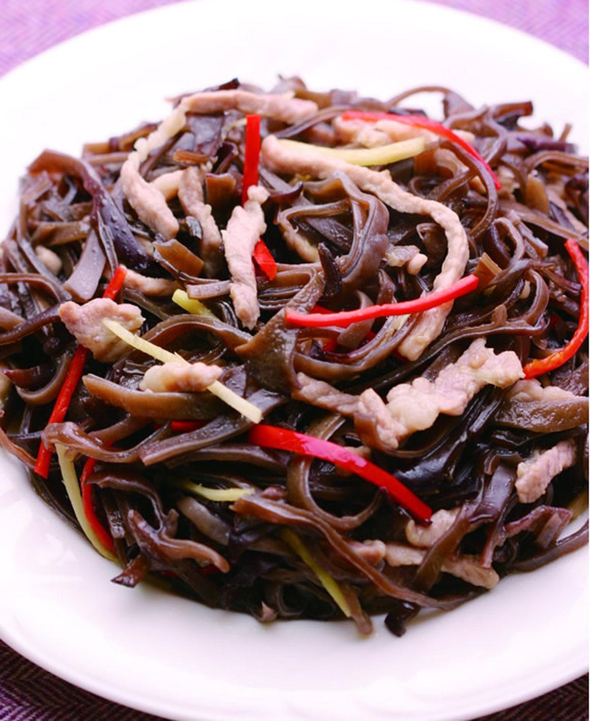 食譜:木須炒肉(1)