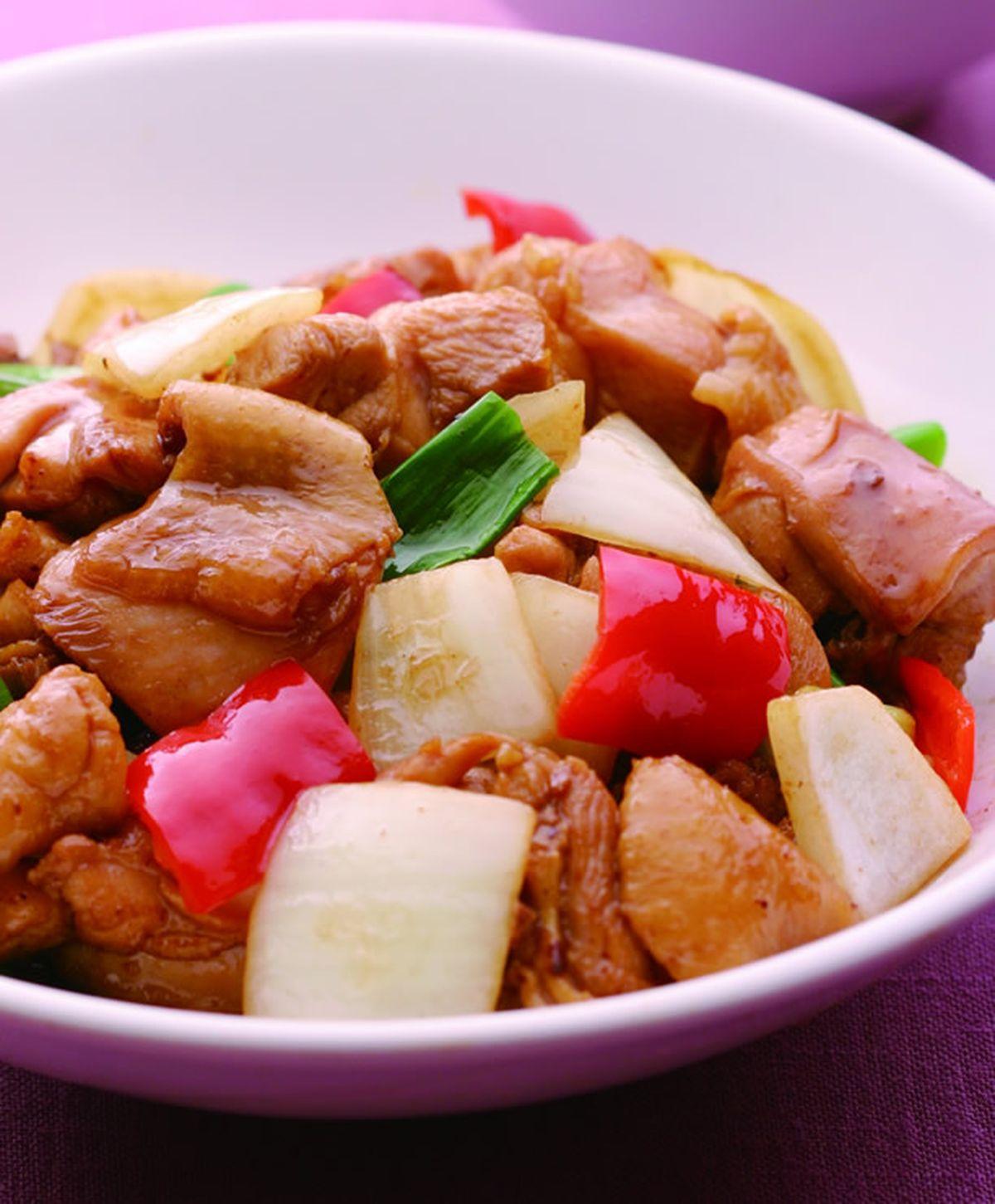 食譜:醬燒雞塊