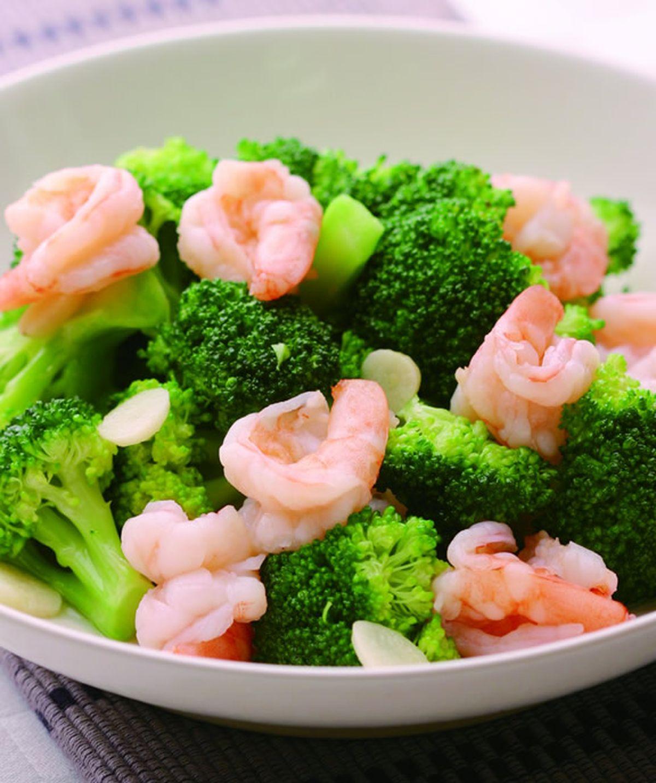 食譜:花椰菜炒蝦仁